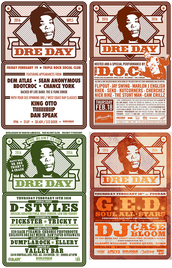 Just A Sampling Of The 20 Dre Day Parties That Popped Off Across Globe This February In Celebration One And Only Dr