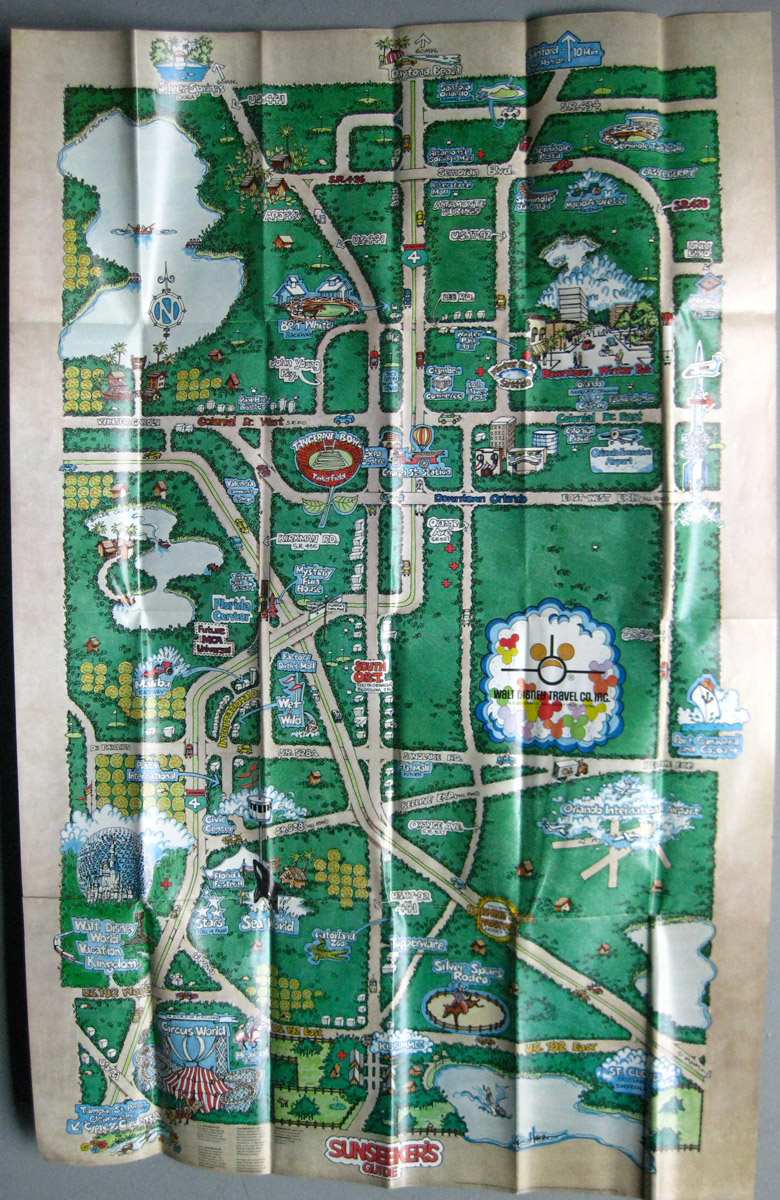SO MUCH PILEUP Orlando vacation map – Tourist Attractions Map In Orlando Florida